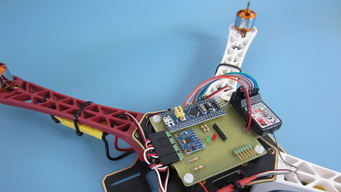 Brokking net - Project YMFC-32 - The STM32 quadcopter - Home