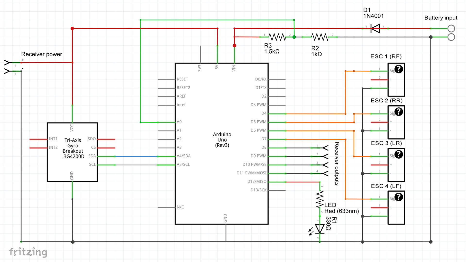 the official ymfc 3d quadcopter project page downloads rh brokking net quadcopter controller schematic quadcopter schematic diagram
