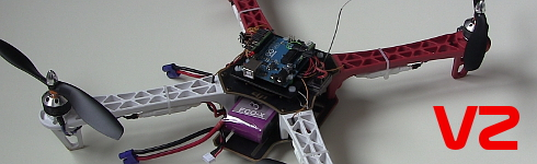 YMFC-3D V2 - The easy Arduino quadcopter - official main page