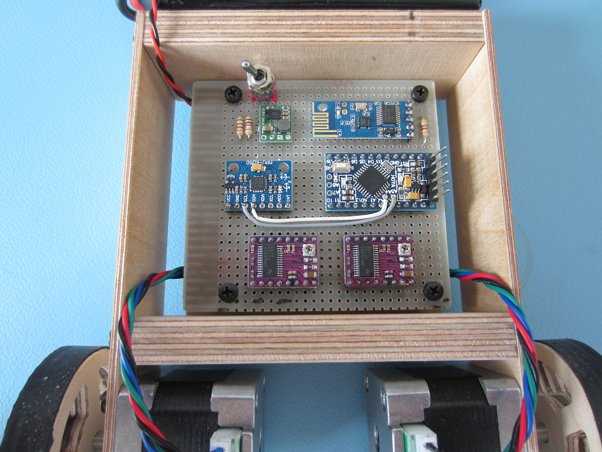 Your Arduino Balancing Robot Yabr Home Basic Wiring For Motor Control Technical Data Eep